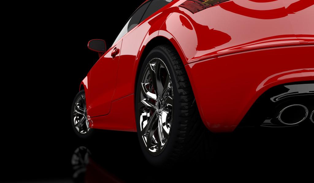 car's wheels